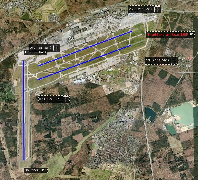 Lax Runway Map Images