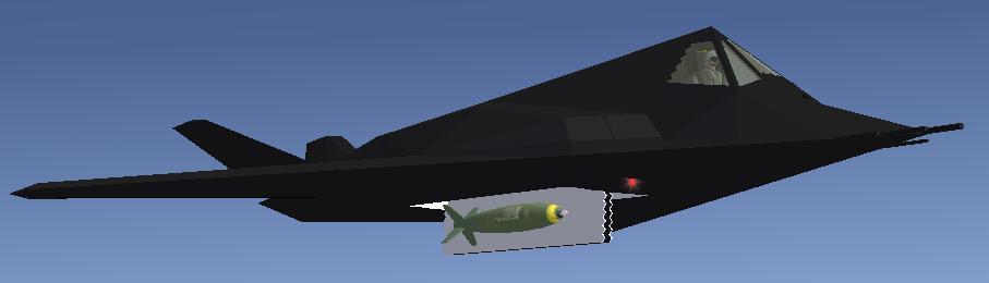 Le Lockheed F-117 Nighthawk F-117_bomb_bay_open