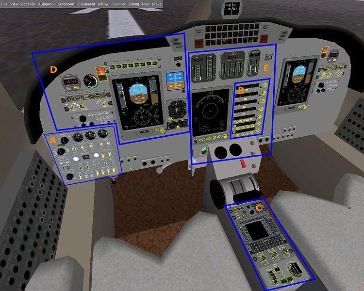 Cessna Citation Bravo Panel Flightgear Wiki