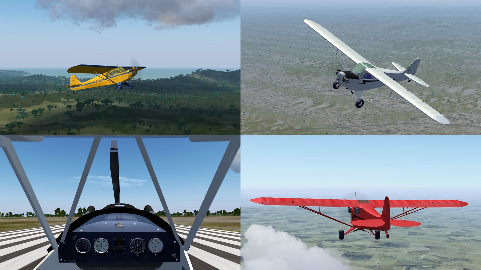 FlightGear forum • View topic - Piper Cub Liveries