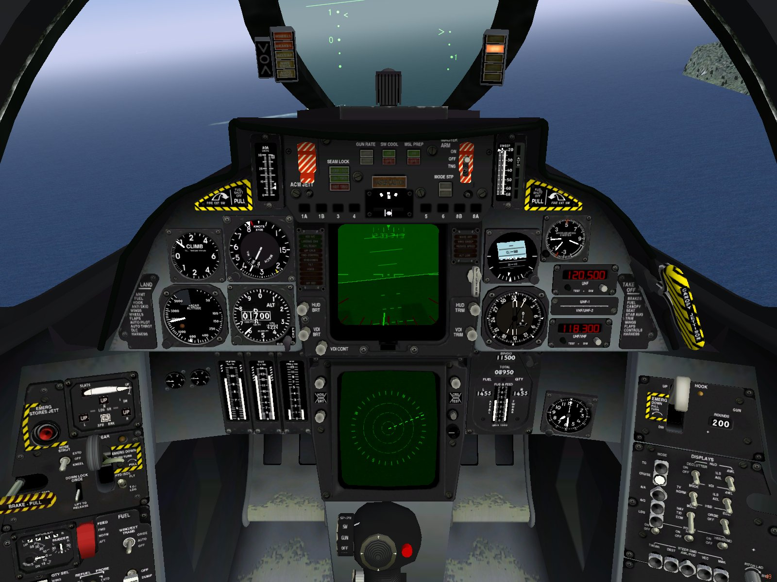 FileF-14 cockpit jpg F 14 Tomcat Cockpit