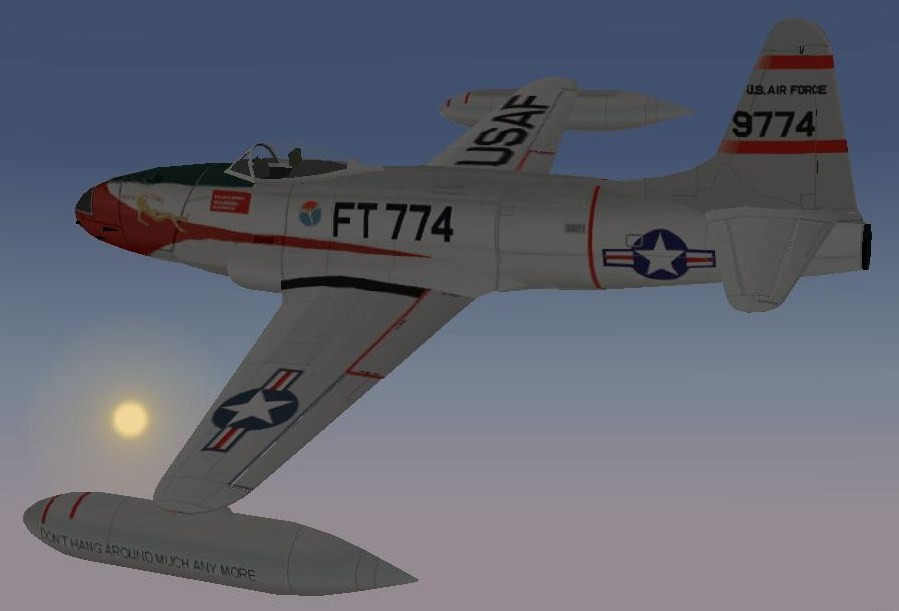 F-80C Shooting Star F-80C
