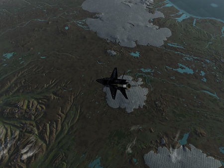 X-15 over Iceland