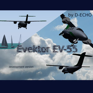 Splash screen of the Evektor EV-55