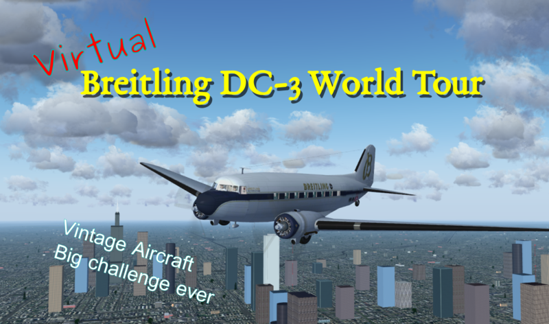 Virtual Breitling DC-3 Would Tour