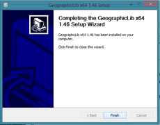 GeographicLib - End of installation wizard.png