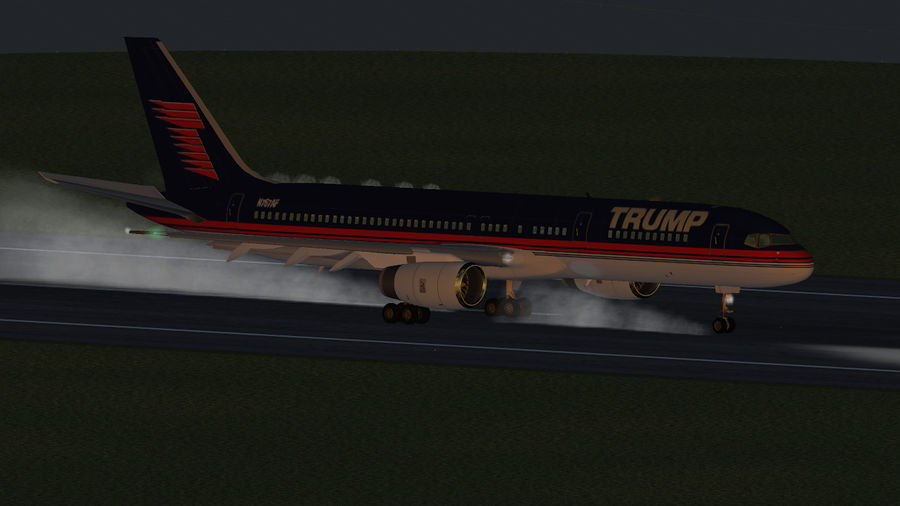 Landing in Frankfurt's 25L by Ambro