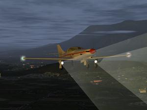 startende und landete flugzeuge