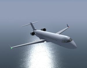 The Bombardier CRJ700