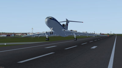 Tupolev Tu-154B-2 takeoff from EGKK.jpg
