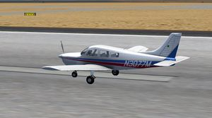 The Piper PA28 Warrior II