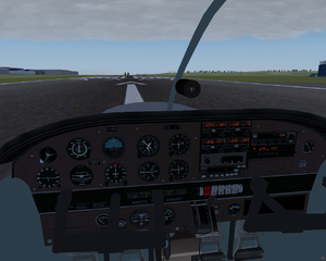 Cockpit screenshot