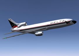 L-1011-500 in Delta Air Lines livery