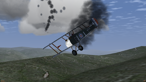 JSBSim Sopwith Camels in Bombable add-on