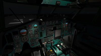 Tupolev Tu-154B-2 pilot cockpit night.jpg
