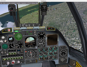 The Warthog cockpit