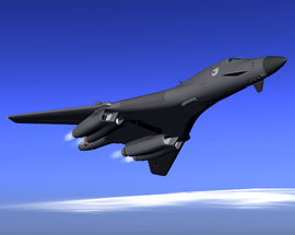Rockwell B-1B Lancer - FlightGear wiki B1 Lancer Supersonic