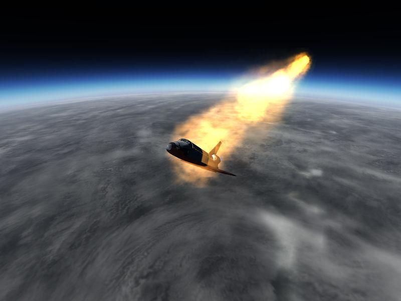 space shuttle orbiter landing speed - photo #37