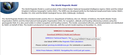 GeographicLib - Finding the download page for magnetic models.png