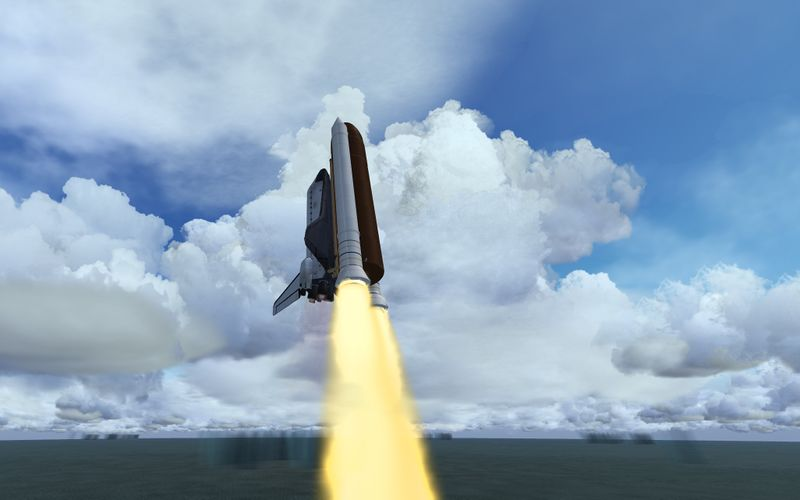space shuttle landing distance - photo #36