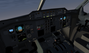 Flightdeck (originaly from the A300-600ST)