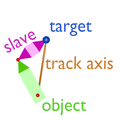 Tracking animation with slave object (scissor, inverse kinematics).png