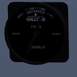 A Televel fuel content gauge.