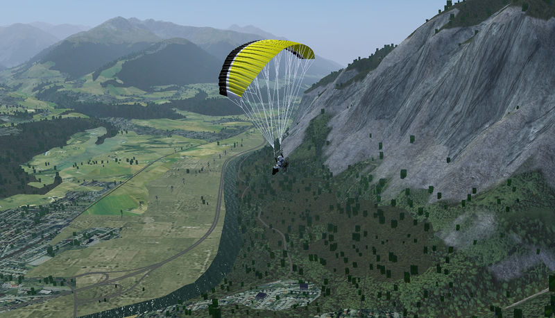File:Paragliding in the mountains.jpg