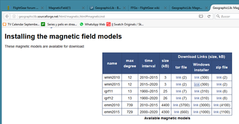 GeographicLib - Choosing a magnetic model for download.png