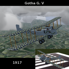 Gotha G. V for FlightGear