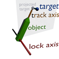 Tracking animation (locked-track target moved outside plane).png