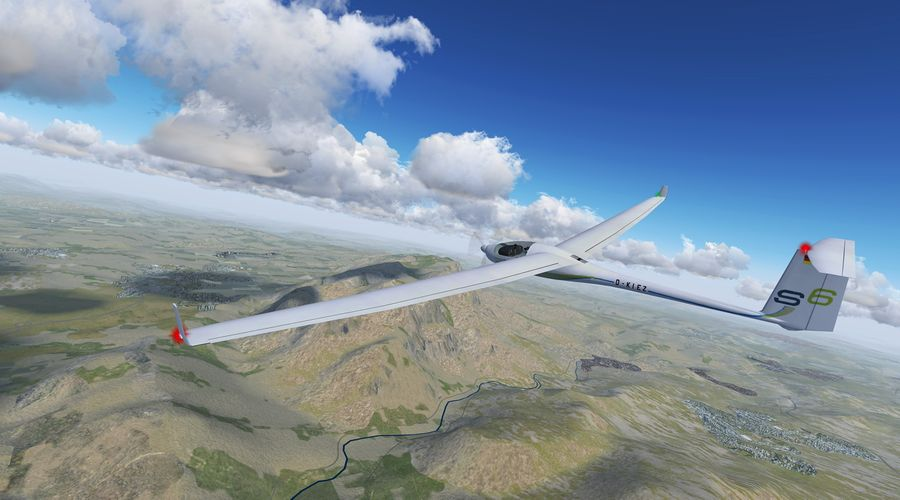 Gliding in Catalonia by Dg-505