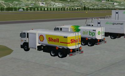 Short version of the Volvo-FM airport fuel truck