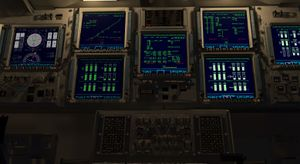 Space Shuttle cockpit (November 2020)