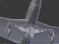 P-51D WIP View Looking Up At The Wheel Wells.png
