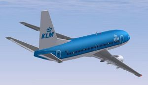 Boeing 737-300 in KLM livery