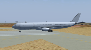 The A330-343 with RR Engines
