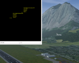 Screenshot showing HLA prototype at LOWI