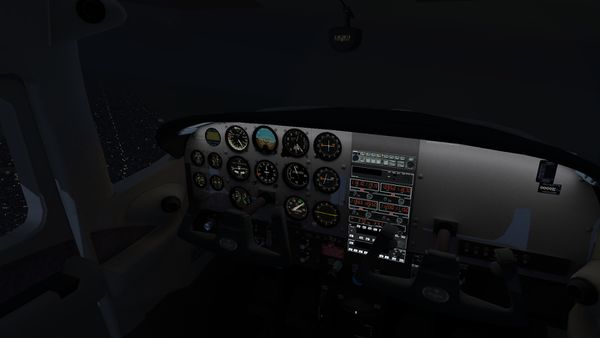 Cessna 182S panel illumination