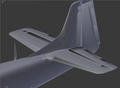 P-51D WIP Tail With Dorsa lAnd Fairing.png